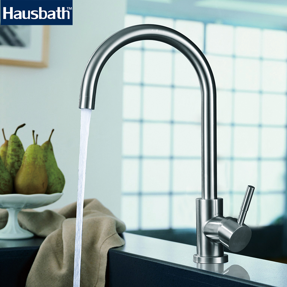 Kitchen Faucet 360 Degree Rotating Water Tap High Quality Stainless ...