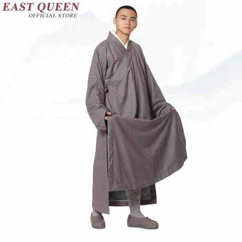 New Arrivals buddhist monk clothing men monk costume solid color shaolin monk robe large size 3xl 4xl 5xl 6xl AA2929 YQ - DISCOUNT ITEM  45% OFF All Category