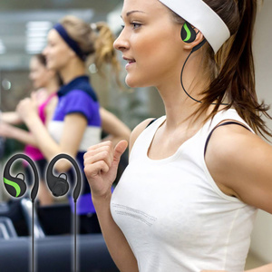 Image 3 - QAIXAG inalámbrico colgando oreja auriculares Bluetooth deportivos CSR8645 estéreo accesorios del teléfono móvil para teléfonos móviles con Bluet