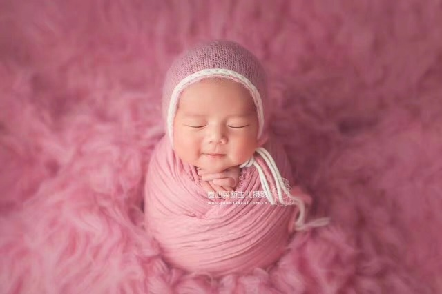 Baby cheesecloth wrap newborn stretch knit wrap photography props baby swaddle blanket props
