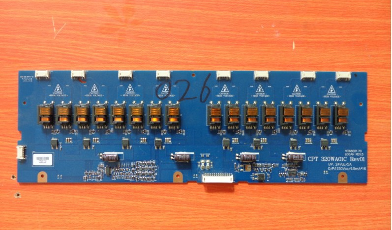 все цены на  CPT320WA01C VIT68001.70 high voltage board  онлайн