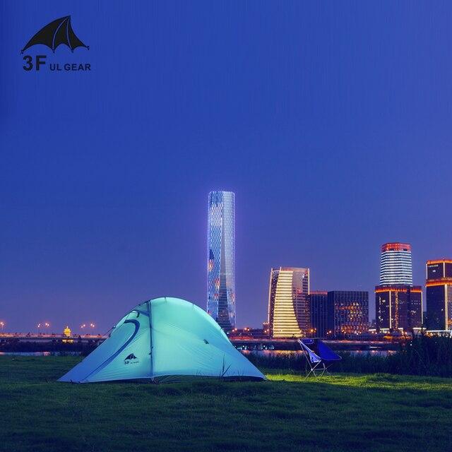 3F UL GEAR Ultralight tent 15D 1-2 Person 4 Season hiking trekking 2