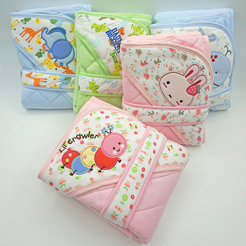 Y133-1 Newborn baby 85*85cm spring and autumn section thicker baby holding sleeping bag  ...