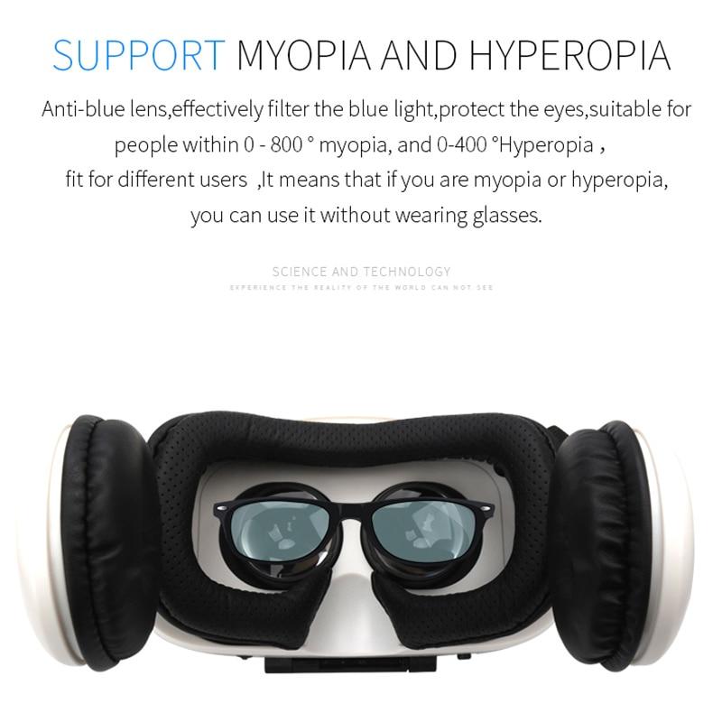 Original BOBOVR Z4 Leather 3D Cardboard Helmet Virtual Reality VR Glasses Headset Stereo BOBO VR for 4-6' Mobile Phone 3