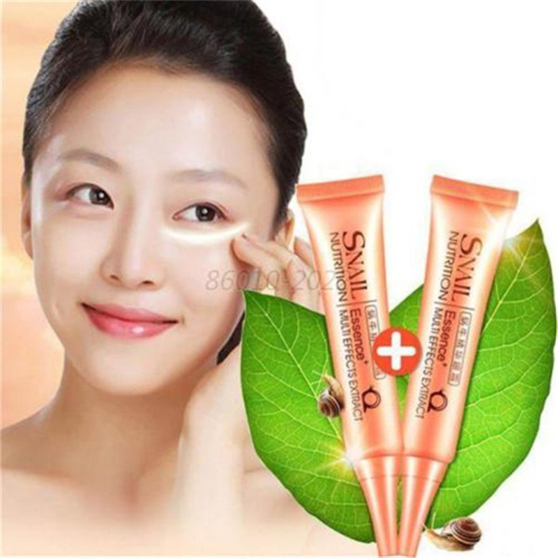 Snail Essence Eye Cream for Anti-Dark Circle Removing puffiness Wrinkle