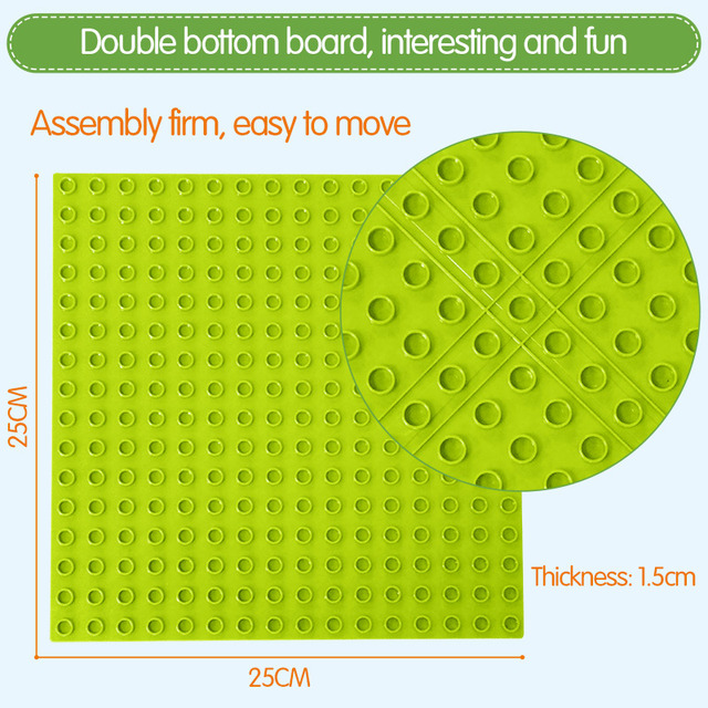 88-111Pcs Marble Race Run Maze Balls Track Building Blocks Funnel Slide Big Size Building Brick Compatible