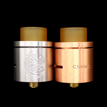 CYAN CSMNT RDA Atomizer 22mm Diameter RDA e Cigarettes Tank Rebuildable Dripping Freestyle Coil Vaporizer for Vape Box Mod end table