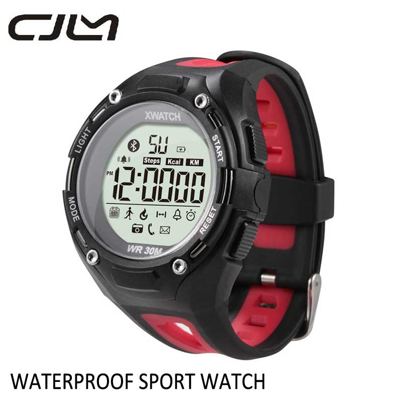 Smart Watch Waterproof font b smartwatch b font Waterproof Dust proof Bluetooth Outdoor Sport XWatch For
