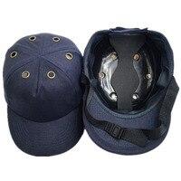 CCGK Bump Cap Bhp Kask ABS skorupa Wewnętrzna Baseball Hat styl Ochronny Kask Dla Odzieży Roboczej Ochrona Głowy Top 6 Otwory