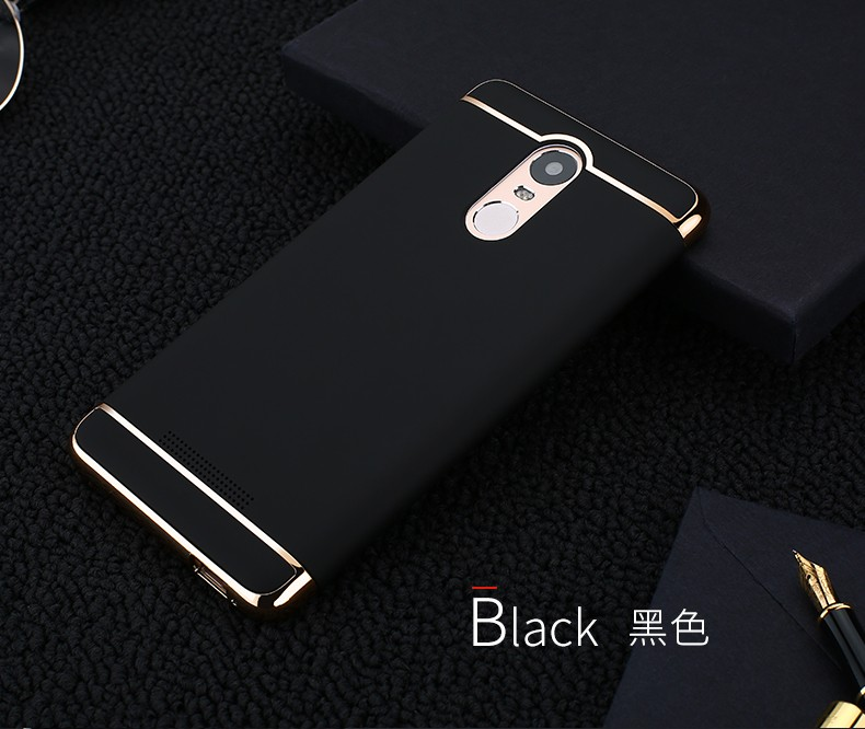 hot sales 67b70 a8b74 For Xiaomi Redmi Note 4/3/2 Case Original Plating Frame Hard PC Back Cover  Case For Xiaomi Redmi 4A 4Prime 3 3S/for Xiaomi 6 mi6
