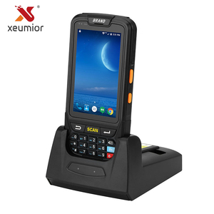 Image 1 - SM DT40 Android 7.0 Handheld Data Collector Industriële Mobiele Computer 2D Barcode Scanner Nfc Reader Bluetooth Wifi Robuuste Pda