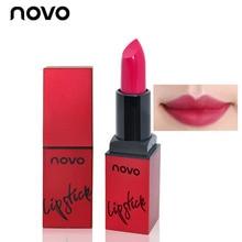 NOVO Velvet Smooth Lipstick Matte Red Lip Stick Velvet Long Lasting 24 Hours Lip Care Red