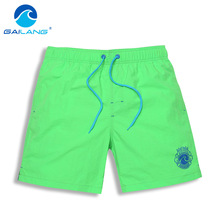 Gailang Brand Men Beach Shorts Boxer Trunks Boardshorts Men's Swimwear Swimsuits Bermuda Short Bottoms Quick Drying Casual Boxer
