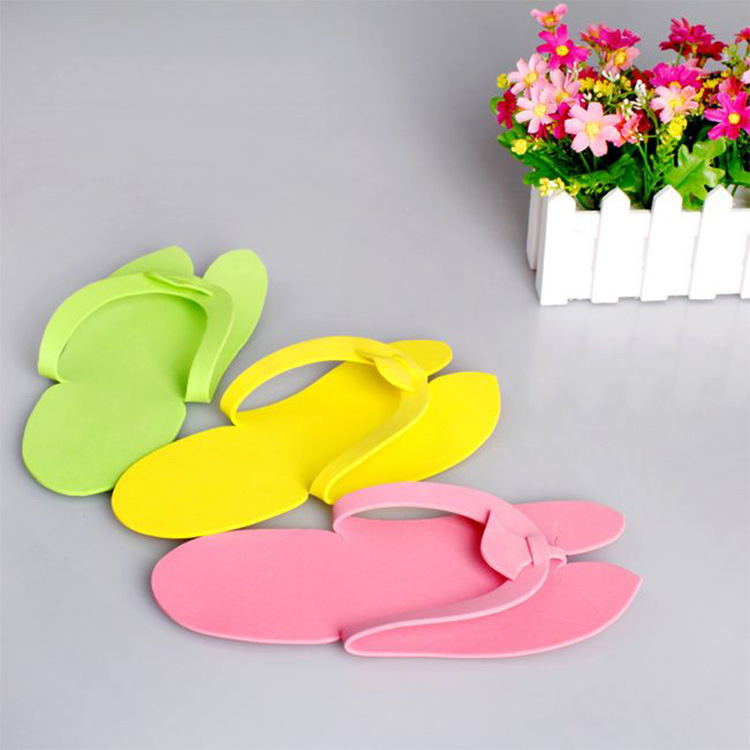 Disposable Slipper Shoe Holder Soft Flip Flop Foam Slipper
