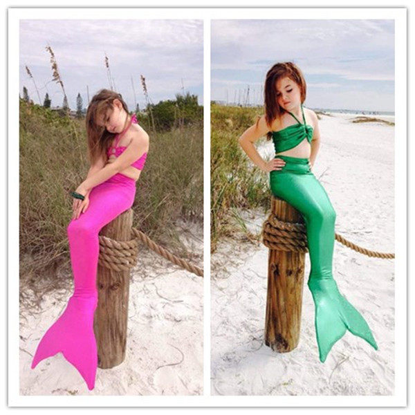 2737ccfffd47f Girls Ariel The Little Mermaid Tail Princess Ariel Dress Cosplay Costume  Kids For Girl Fancy Green Dress Swimsuit Children Suit Sc 1 St Aliexpress