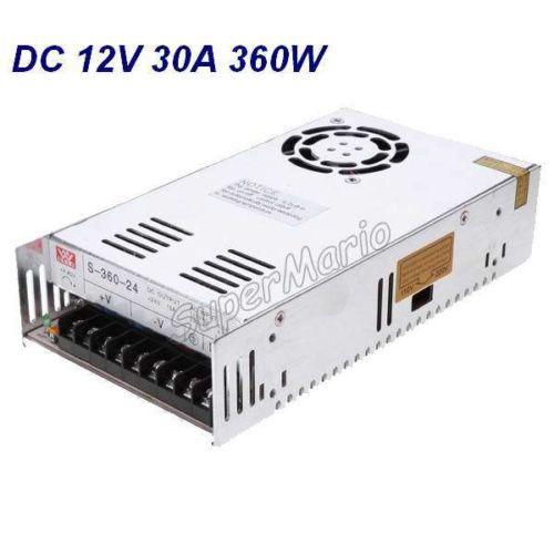 все цены на Hot Selling MW High Quality 12V 30A 360W DC Regulated Switching Power Supply CNC-33 онлайн