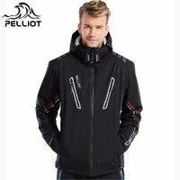 Pelliot 30 Degree Super Warm Winter Ski Jacket Men Waterproof Breathable Snowboard Snow Jacket Outdoor Skiing
