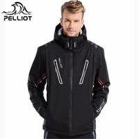 Pelliot 30 Degree Super Warm Winter ski jacket men Waterproof breathable snowboard snow jacket outdoor skiing ski clothing