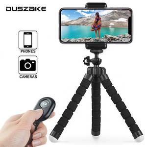 DUSZAKE Mini Tripod Phone-Camera Octopus Xiaomi Flexible Gorillapod Samsung