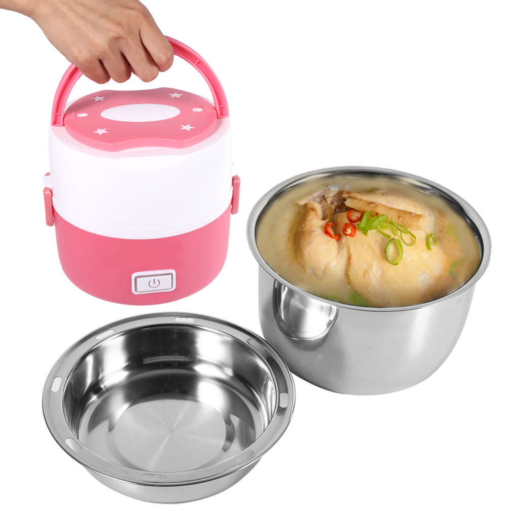Electrical Food Box Rice Cooker Electric Lunch Box Keep Wram Food ...