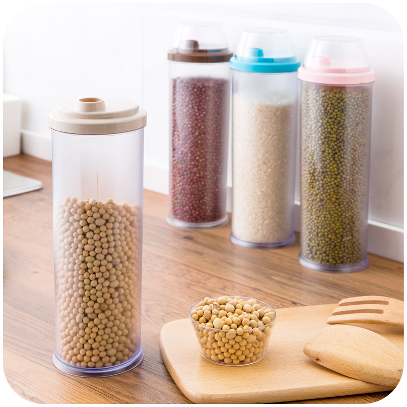 1 Pcs Plastic Sealed Spaghetti Storage Container Pasta High Dispenser Jar Canister Grains Food Noodle Storage Box Jar Bottle-in Storage Bottles u0026 Jars from ... & 1 Pcs Plastic Sealed Spaghetti Storage Container Pasta High ...