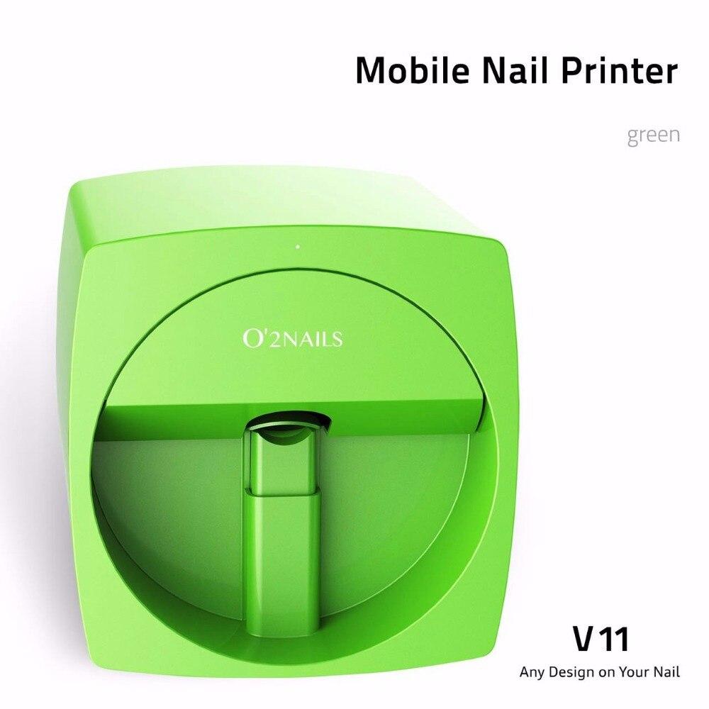 Venta Real O2Nails Mini impresora manicura máquina transmisión foto ...