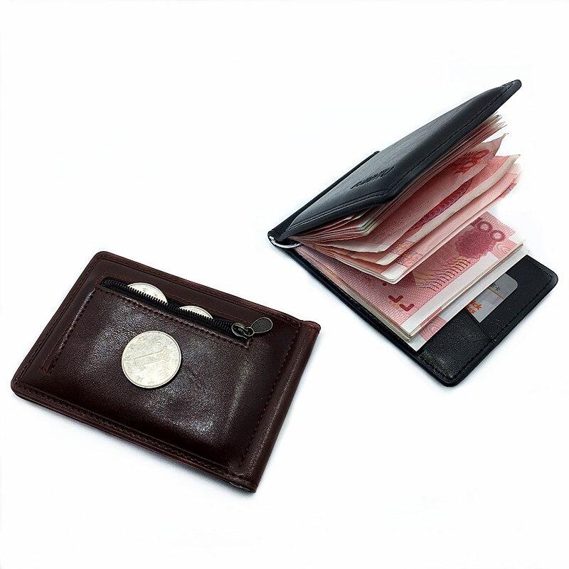 Creditcardhouder Portemonnee PU lederen geld Portemonnee & - Portemonnees en portefeuilles