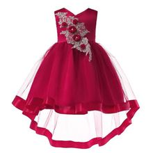 New High quality baby lace princess dress for girl elegant birthday party Baby girls christmas clothes 2-10yrs