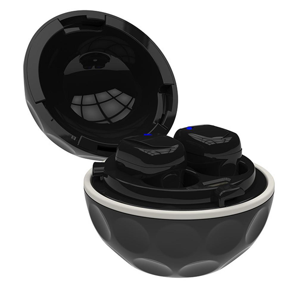 Deux-Façon De Charge Sans Fil Bluetooth Écouteur Étanche Avec Boîte De Charge Sans Fil Écouteurs Stéréo Mains Libres Pour iphone Andriod