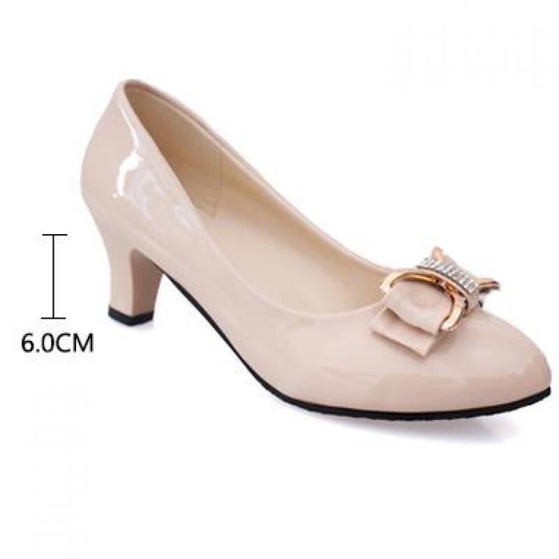 e6a5bab7e4c6 Large size 34-42 Women Pumps Fashion Sexy Pointed Toe Thin High ...