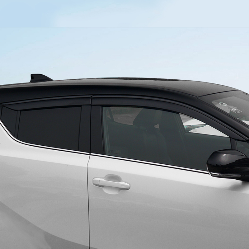 Window Shield Cover For Toyota CHR 2018 Window Air Vent Visor Sun Shade Awnings Shelters Guards