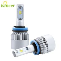 Car Styling ISincer H7 H4 H11 LED Car Headlight Bulb 12V LED Lamp Motorcycle CSP Car