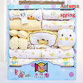 MamaLove 21pieces Newborn baby girls Clothing 0-6months infants baby clothes girl boys clothing set baby gift set without box