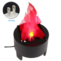 Bar Led Effect Lamp Flame Light Decorative Pot Mini Party Simulated Realistic Dynamic Fire Atmosphere Hanging Safe
