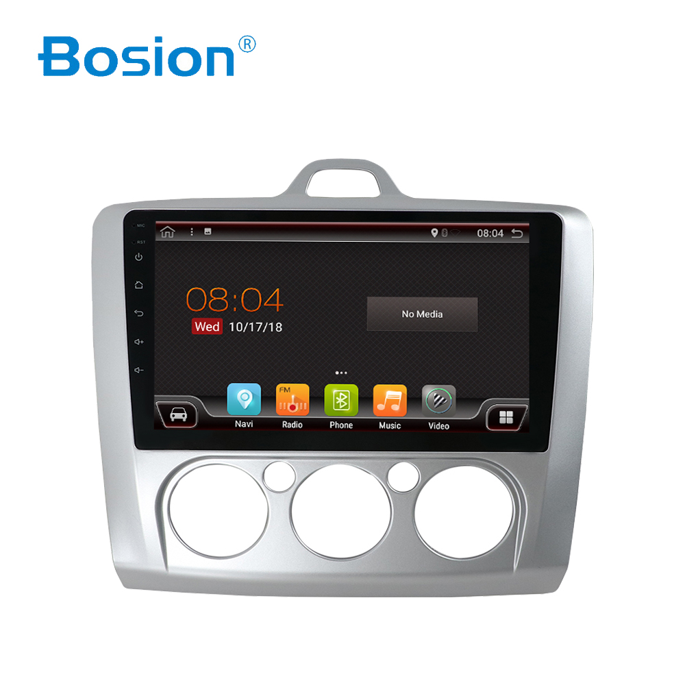 Bosion 4/8 core <font><b>2</b></font> <font><b>din</b></font> Für <font><b>Ford</b></font> <font><b>Focus</b></font> 2009 Android 8/9 Autoradio Auto Multimedia-Player GPS Navigation Kopf Einheit mit wifi BT USB image