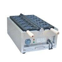 Jamielin Commerciële Non Stick Ijsje Maker Elektrische Taiyaki Making Machine Vis Vorm Wafel Machine