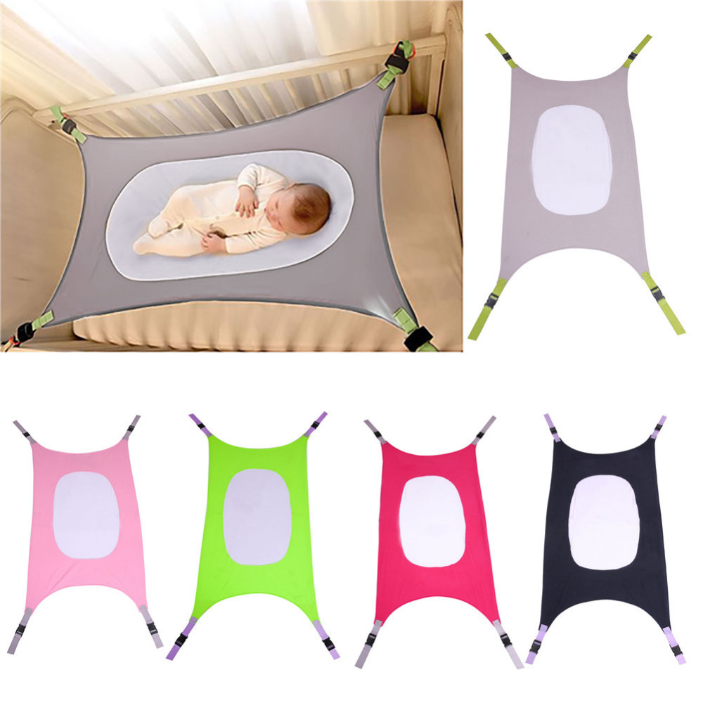 font b Baby b font Safety Hammock Sleeping Bed Detachable Portable Folding Crib Indoor Outdoor