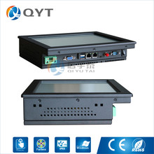 Industrial pc Inter j1900 2.0GHz with 2LAN/4USB2.0 10″ touch screen embedded panel pc 2GB RAM 32G SSD Resolution 800×600