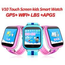 Vwar GW200S Q750 Q100 маленьких GPS Смарт часы с Wi-Fi позиционирования 1.54 дюймов Цвет Сенсорный экран sos трекер безопасный анти- потеряли детей