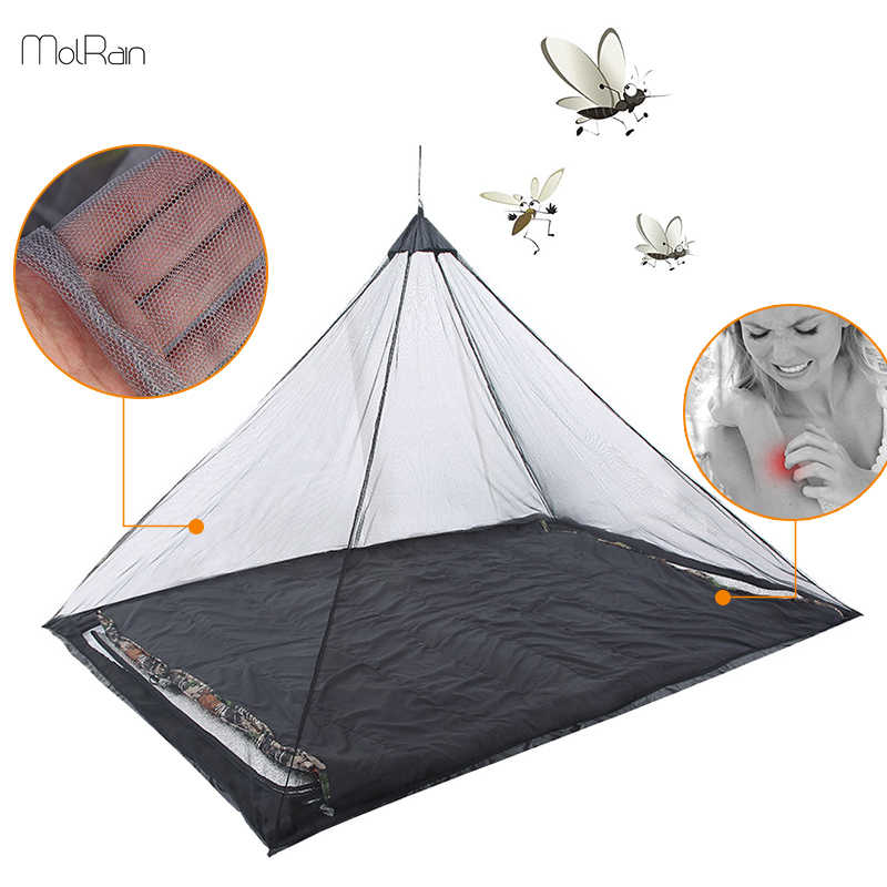 Outdoor Camping Mosquito Net Keep Insect Away Backpacking Tent for Single Camping Bed Anti Mosquito Net Bed Tent Mesh Decor