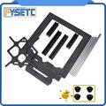 Клон оригинальный Prusa i3 MK3 3d части принтера алюминиевая рама алюминиевый черный профиль и гладкие стержни комплект