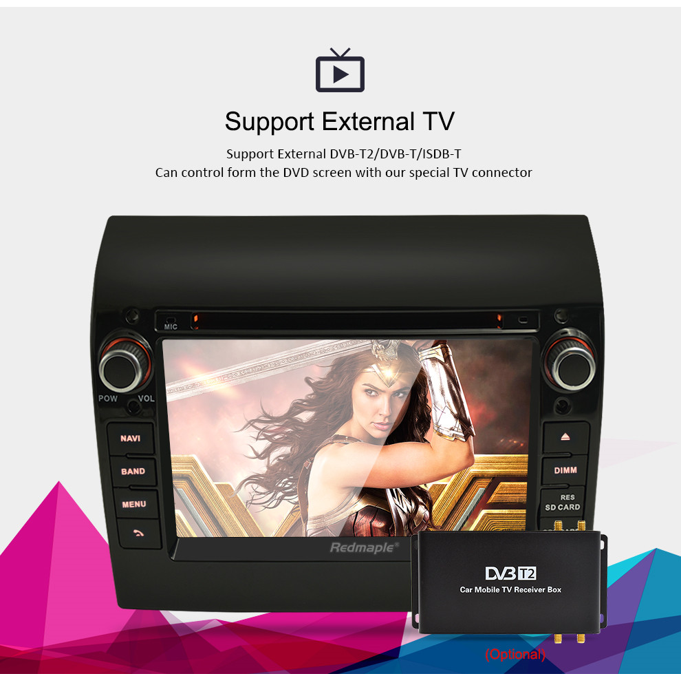 """Image 3 - 8 Core 7"""" IPS Android 9.0 Car Stereo For Fiat Ducato CITROEN Jumper PEUGEOT Boxer DVD Player GPS Navigation Wifi FM Multimedia-in Car Multimedia Player from Automobiles & Motorcycles"""