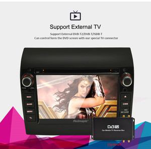"""Image 3 - 8 Core 7"""" IPS Android 9.0 Car Stereo For Fiat Ducato CITROEN Jumper PEUGEOT Boxer DVD Player GPS Navigation Wifi FM Multimedia"""