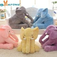 40cm New Fashion Animals Toys Stuffed Soft Elephant Pillow Baby Sleep Toys Room Bed Decoration Plush