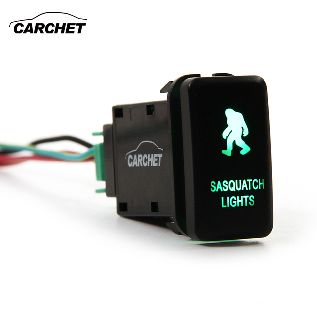 Remarkable Carchet 12V Switch Led Light Switch Push On Off Switch With Wire Wiring Digital Resources Funapmognl