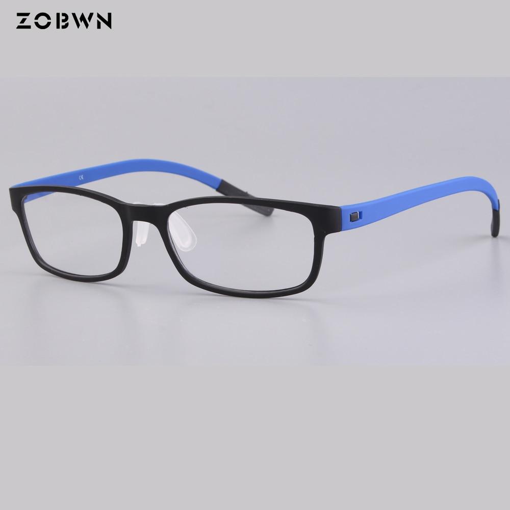 de73efc419 Detail Feedback Questions about ZOBWN brand 2018 newest TR90 Clear Lens  classic Glasses Frame Men Prescription Eyewear Optical Myopia Eyeglasses  Frame 5 ...
