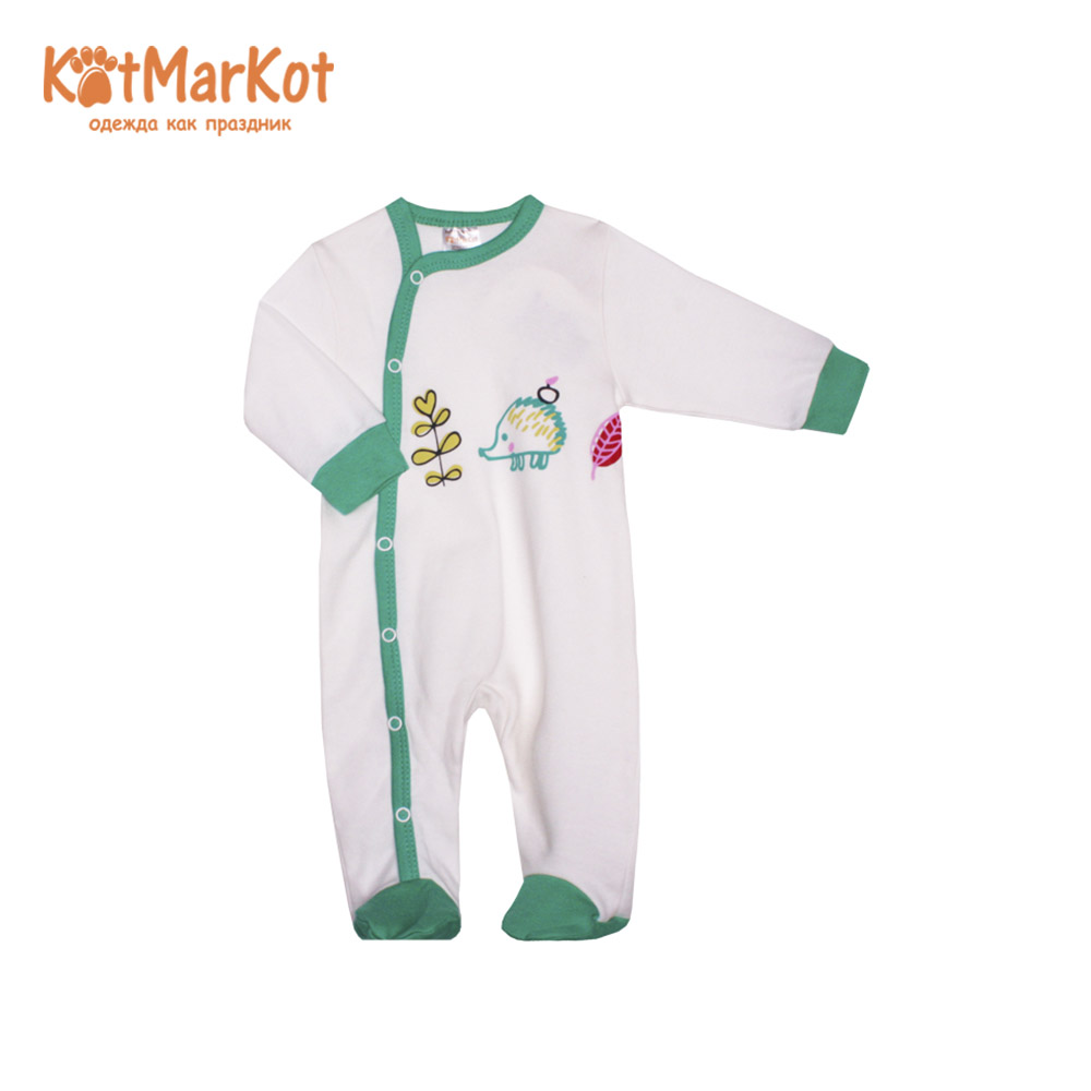 Rompers Kotmarkot 6339  overalls for newborn cat sotmarkets sandpiper baby clothes romper Cotton cat sotmarket Baby Boys Print