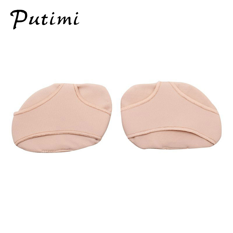 Image 3 - Putimi Fabric Gel Pads for Feet Care Slip Resistant Metatarsal Cushions Pads Silicone Forefoot Pain Support Front Foot Care Tool-in Foot Care Tool from Beauty & Health