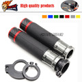 Motorcycle Handle bar / Handlebar Grips Carbon Fiber Material 7/8'' CNC 22MM fits for Ducati Monster 795 696 1200 S 899 Panigale
