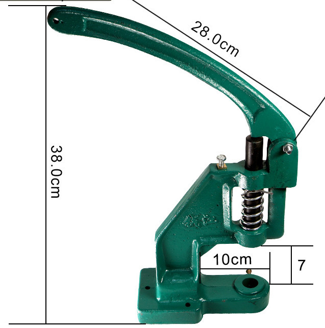 Practical Grommet Machine Eyelet Hand Press Tool Punch